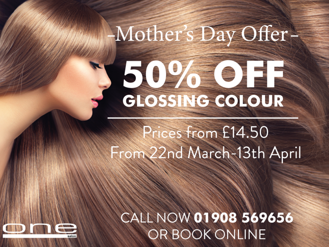 50% Off Glossing!