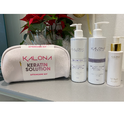 Keratin Solution Aftercare bag