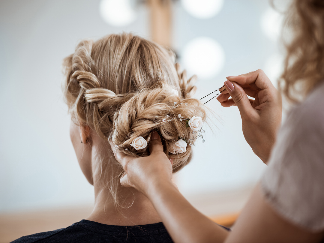 Book in your wedding hair styles now!